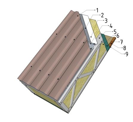 Крыша - Мансарда + полистирол